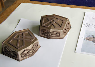 Thorin Oakenshield boot caps cardboard and foam