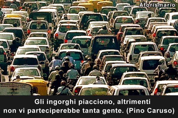 Favoloso Aforismario®: Traffico - Aforismi, frasi e battute divertenti TI81