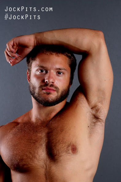 Young Hairy Man's Armpits