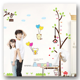 height measurement cartoon tree am 9015