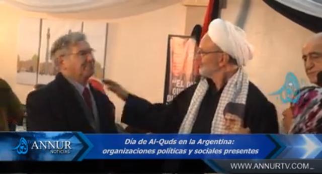 El saludo del Sheij Abdul Karim Paz de Mezquita shiíta Al-Tauhid
