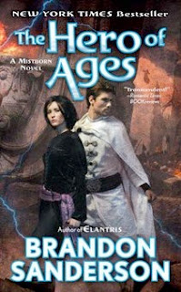 bookcover of THE HERO OF AGES (Mistborn #3) by Brandon Sanderson