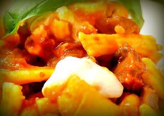 Macarrones a la siciliana