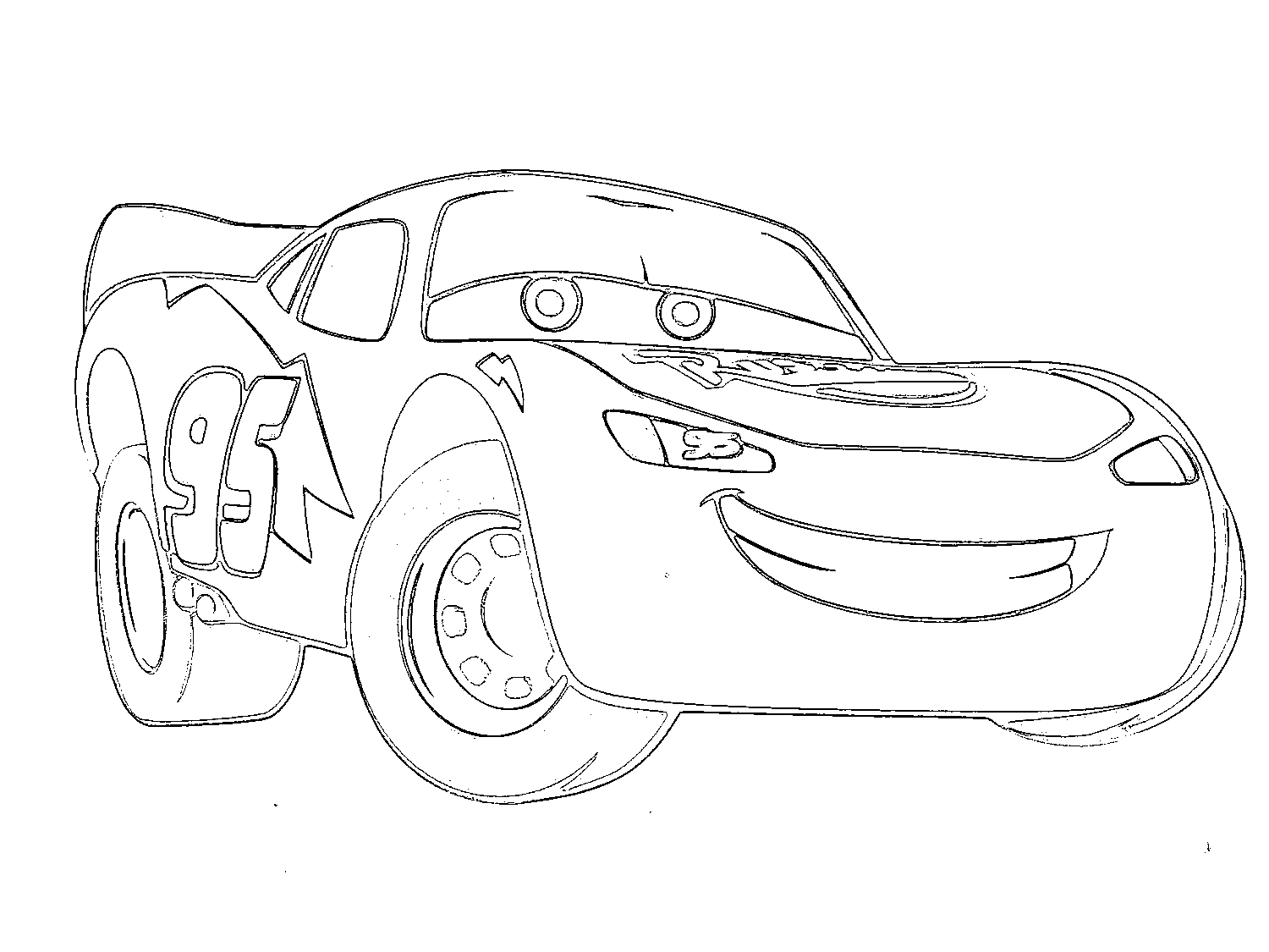 Mcqueen Coloring Pages