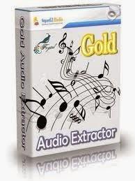 برنامج لتحويل صيغ الافلام الى صوت متعدد الصيغ Gold Audio Extractor 5.5.9