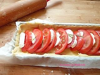 bonne et facile quiche tomate chèvre