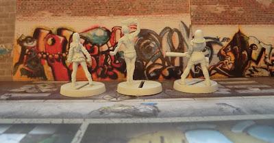 Hasslefree, Miniatures, Suzy, Zombie, Survivor, Mad, Bob, Felicity