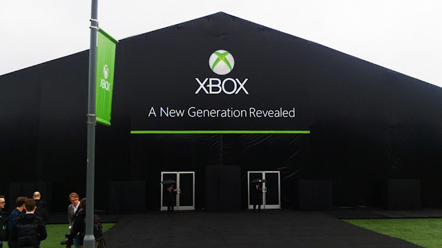next xbox reveal tent 3 Another Quick Look At The Next Xbox Reveal Event Tent