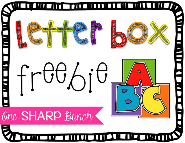 Alphabet identification and sound recognition made easy!  Encourage letter and sound identification with this at-home connection.  Grab the notes and labels for FREE!