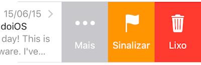 Ícones do Mail - iOS 9