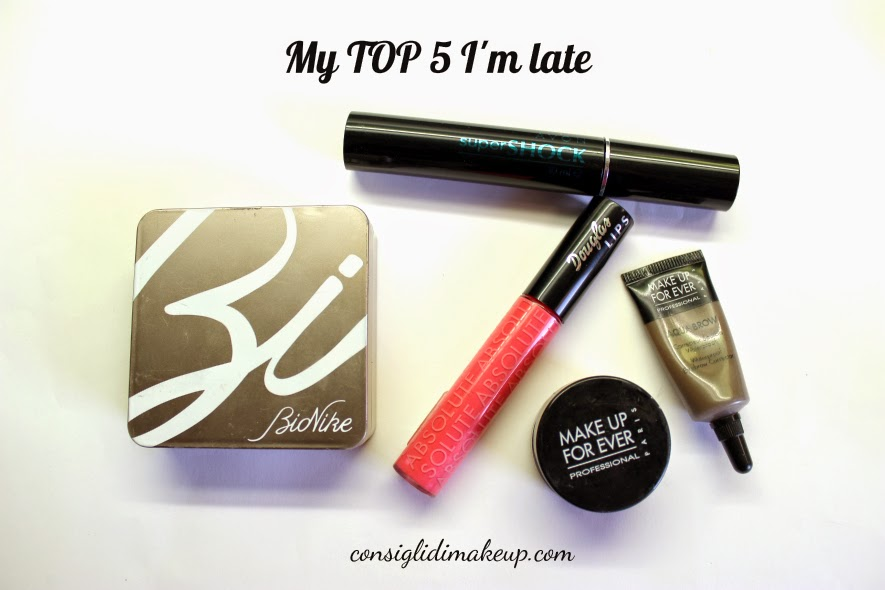 Tag: My top 5 I'm late / 5 prodotti da usare in velocità