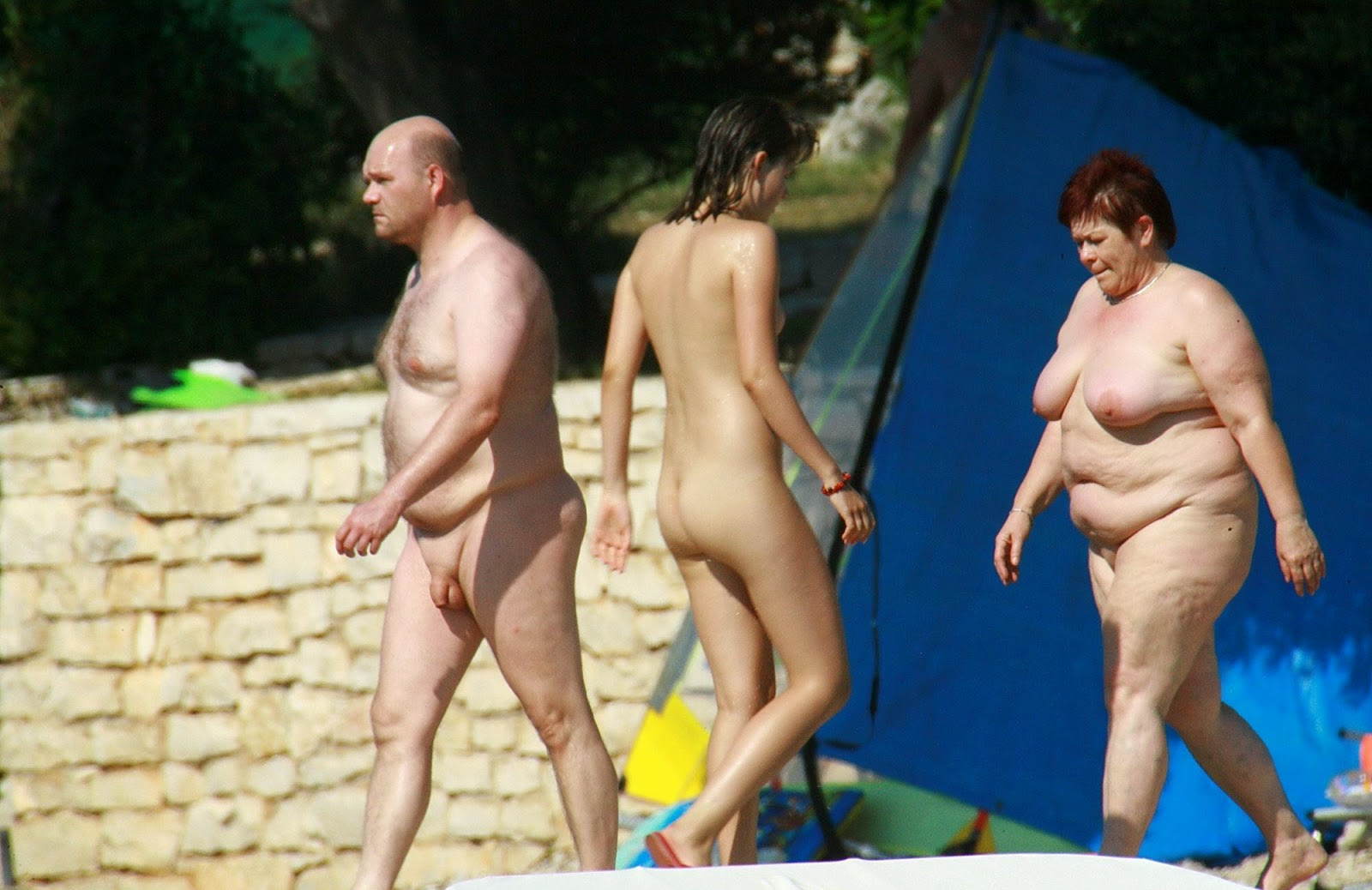family nudist camp movies free