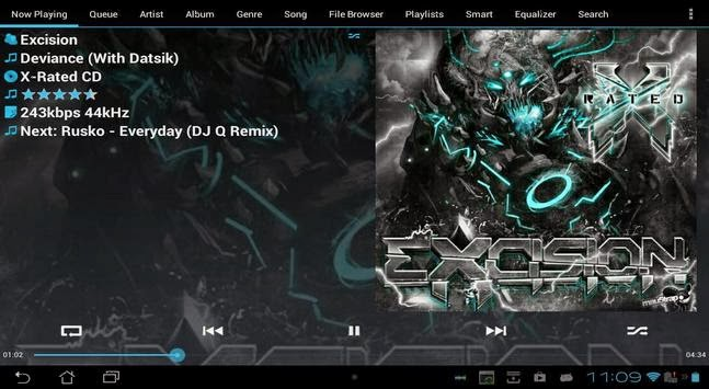 GoneMAD Music Player apk Download