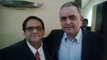 Carlos Rafael e Luiz Flávio Gomes
