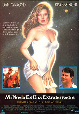Mi novia es una extraterrestre, Kim Basinger, Dan Aykroyd