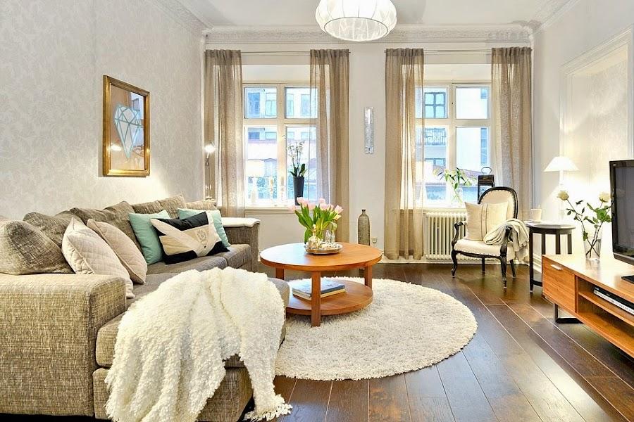 C mo mezclar estilos con encanto la reforma de un piso for Decoracion piso antiguo