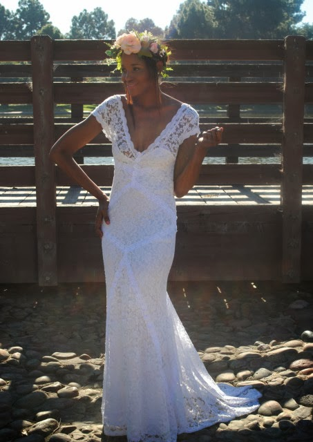 Adelaide Affordable Lace Wedding Dress - Dream-ers