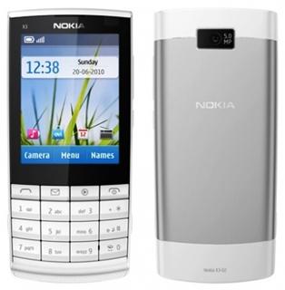 Nokia X3-02, info mobile phone Nokia X3-02