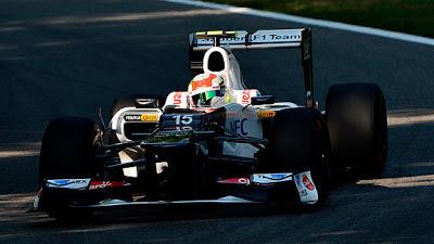 Checo Pérez Escudería McLaren