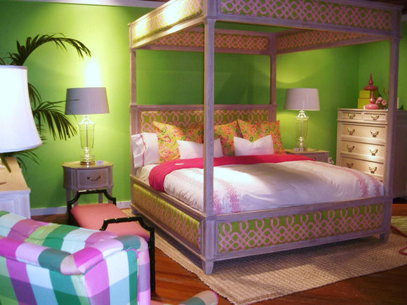 eye for design lilly pulitzer style interiors palm beach chic. Black Bedroom Furniture Sets. Home Design Ideas