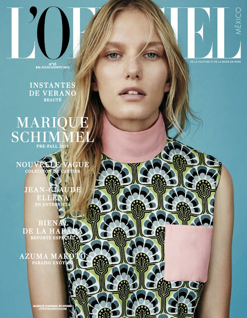 Fashion Model @ Marique Schimmel By Rokas Darulis For L'officiel Mexico, July/August 2015