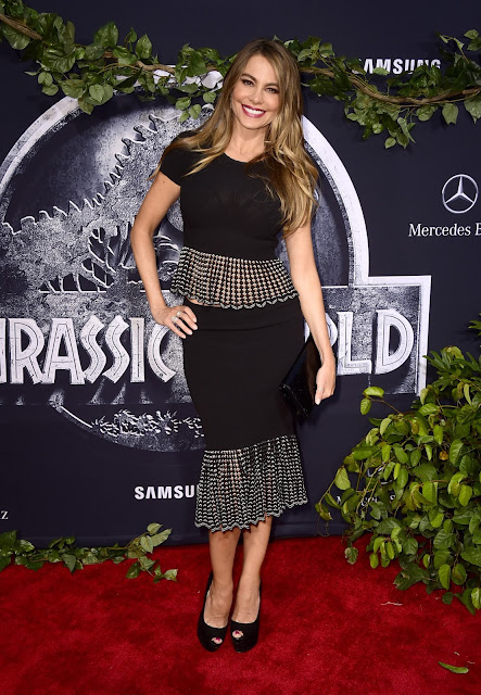 Actress, Model @ Sofia Vergara - Jurassic World premiere in Hollywood