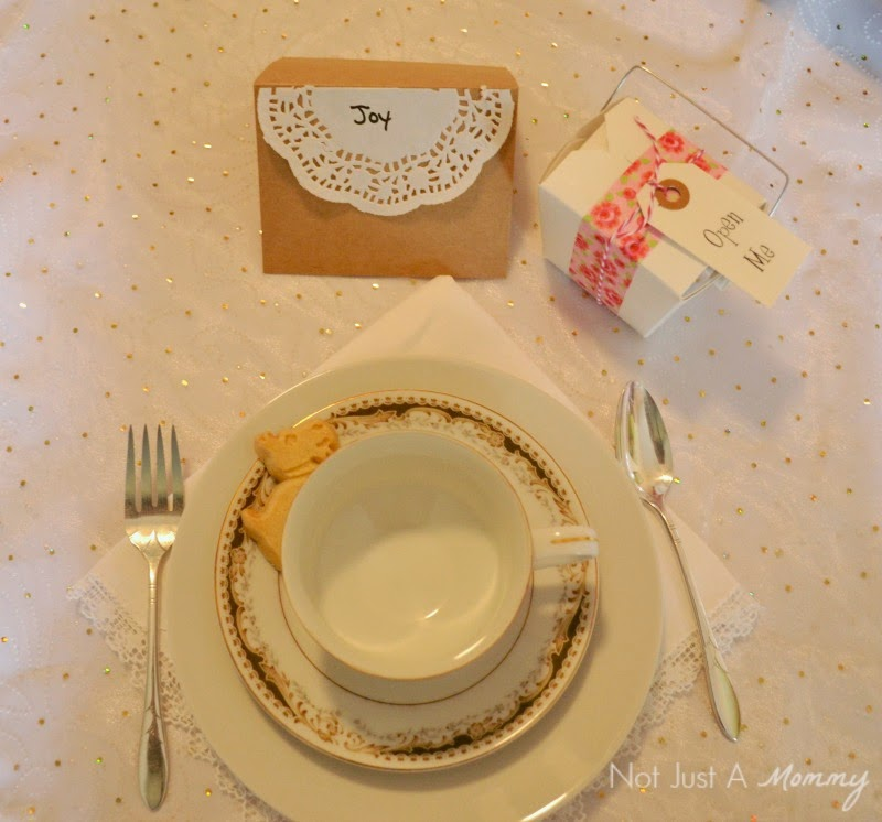 Mother's Day Tea Birthday Party placesetting