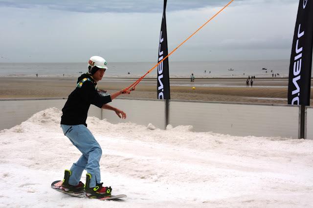 O'Neill Beach club Blankenberge Snowboarding