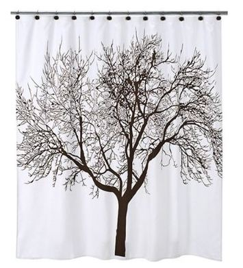 Your space your style finds under 50 bringing the Nature inspired shower curtains