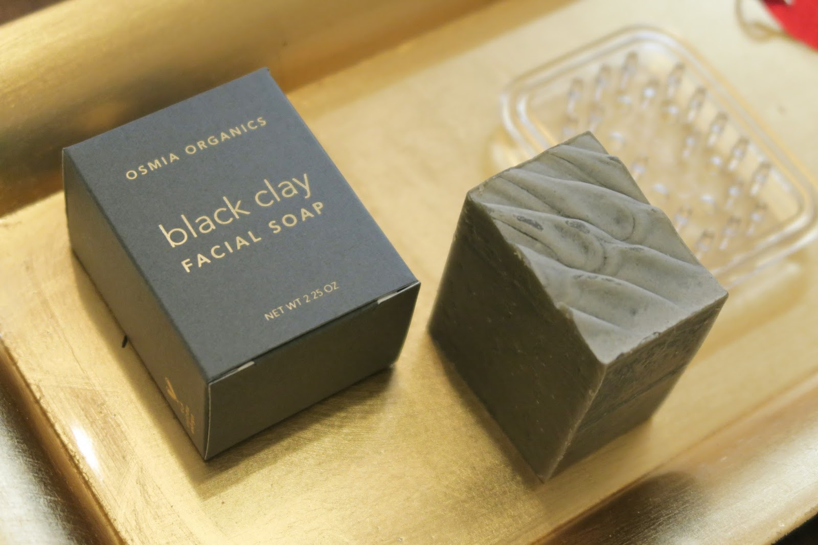 Beauty Heroes January Box Osmia Organics Black Clay Soap