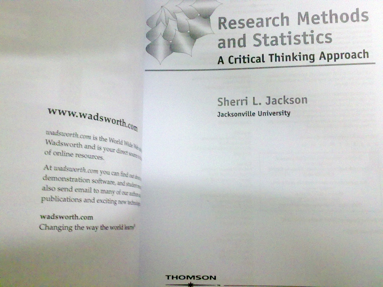 research methods and statistics a critical thinking approach 2011 Quizlet provides critical thinking approach methods statistics activities, flashcards and games start learning today for free.
