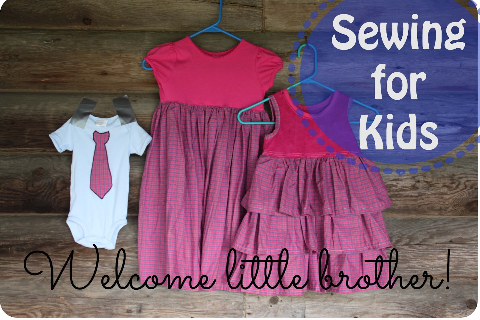 Girls Dress Sewing Tutorial {Sewing for Kids: Sibling Outfits ...