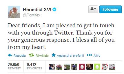 papa followers 2,5 milioni