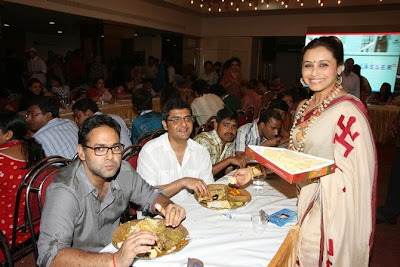 Rani Mukherji is celebrating Durga Puja in Mumbai