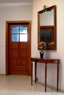 Drzwi łazienkowe / WC sosnowe