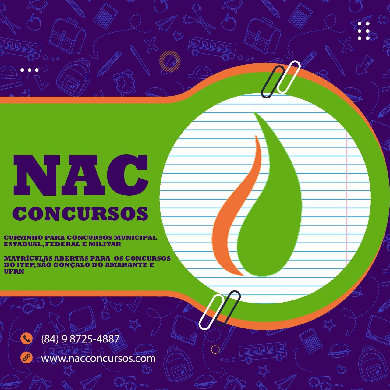 NAC CONCURSOS - NATAL