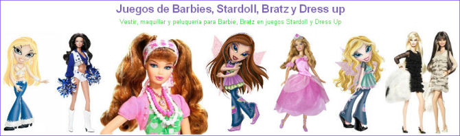 Juegos Barbies Stardoll Bratz Dress up