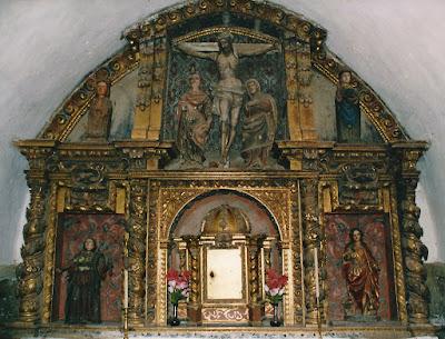 Retablo mayor de la iglesia de San Emiliano de Taja, Teverga