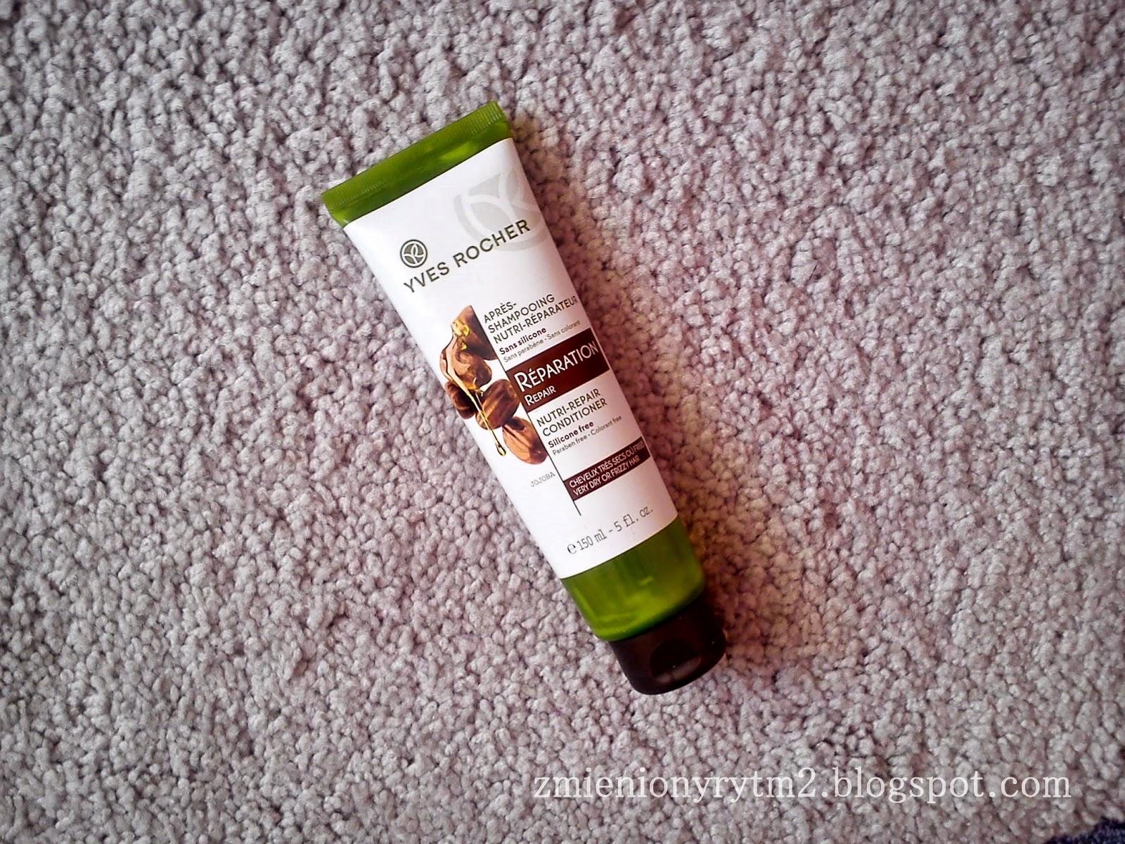 Odżywka odbudowująca do włosów suchych i kręconych
