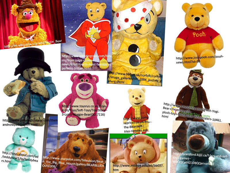 Famous Bears Name The Berenstain Fairy Tales
