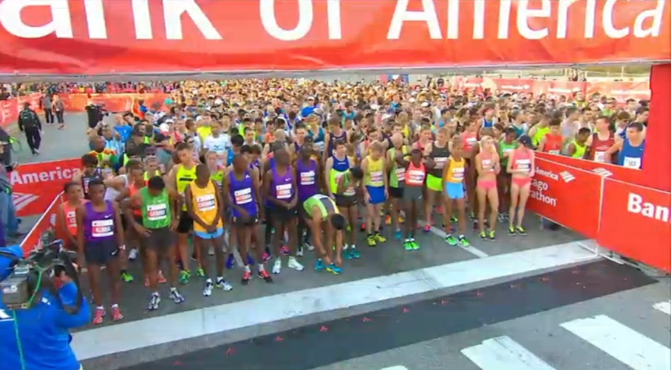 日本と世界のマラソン: 2015シカ...