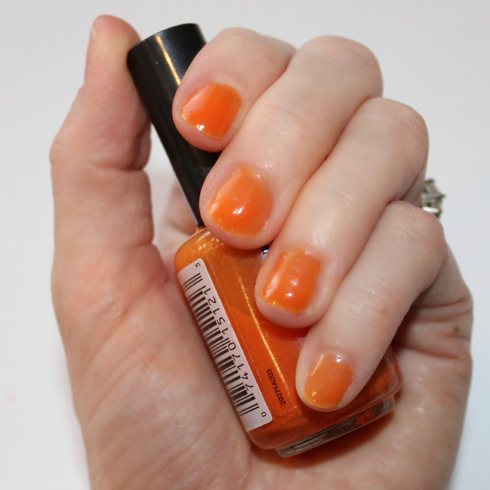 blushing basics: DIY Nail Polish Color