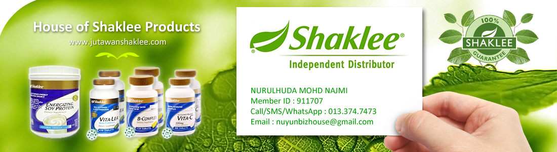 HOUSE OF VITAMIN SHAKLEE PRODUCTS (001873431-W)