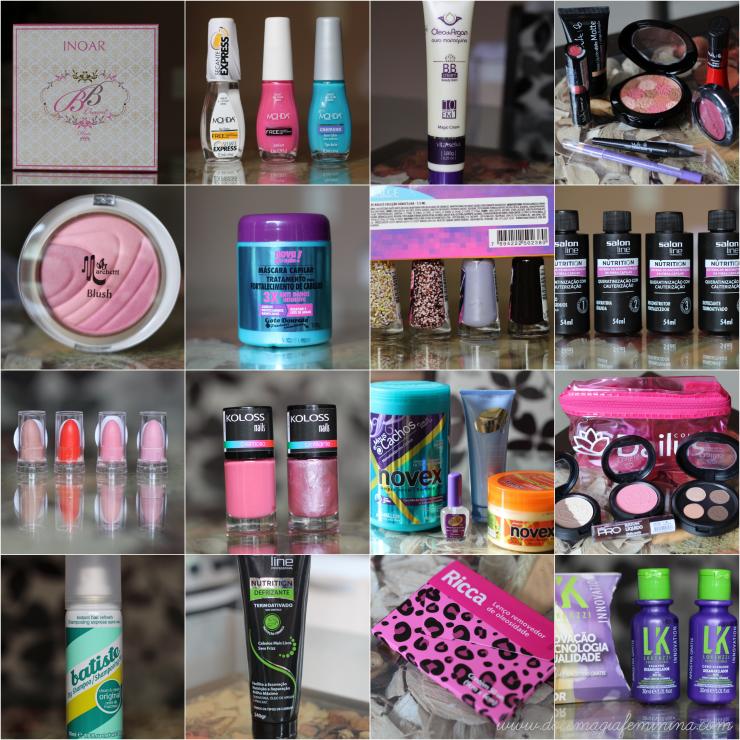 beauty fair produtos recebidos