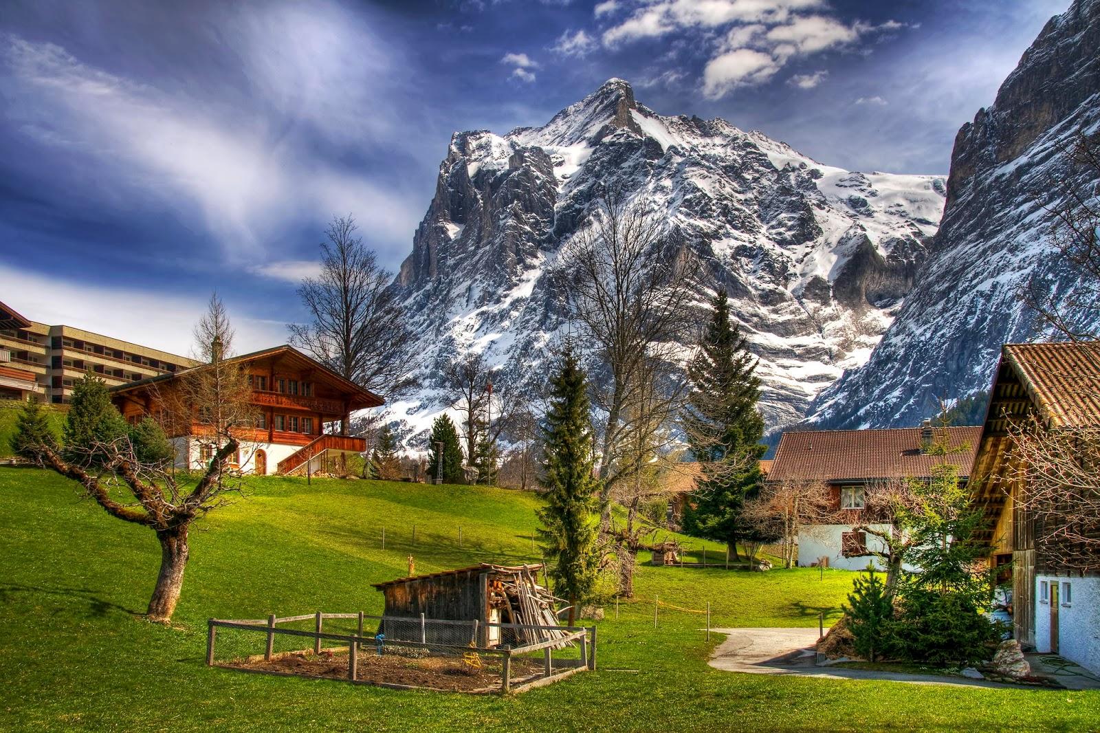 tpico paisaje los alpes suizos Quotes