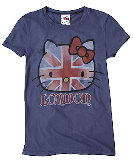 Hello Kitty London England Tshirt