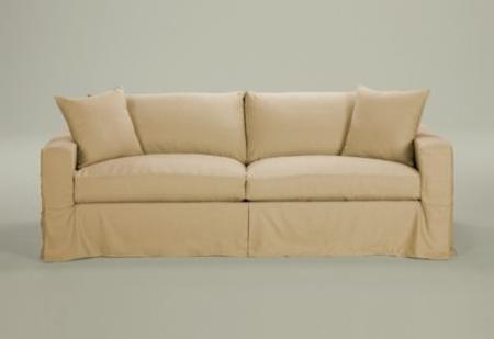 Cabin fervor new sofa for Ethan allen hudson sofa