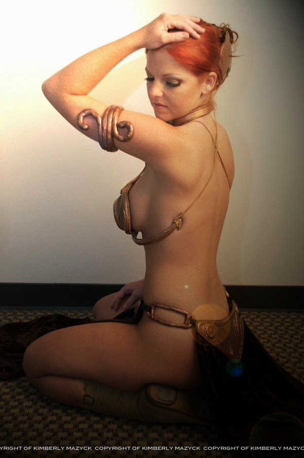 Slave Leia Cosplay - (Princess of Alderaan)
