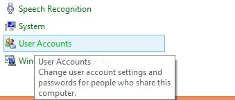 User Account