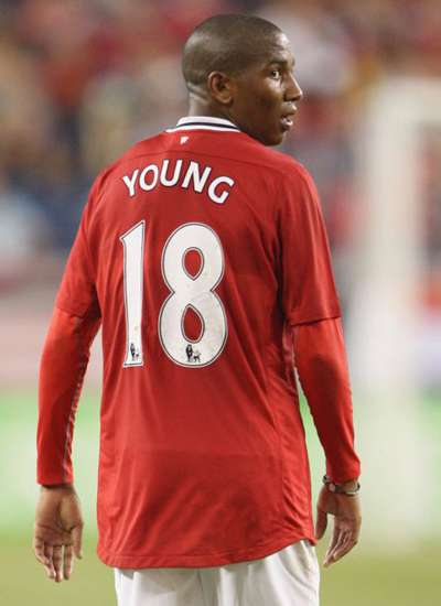 Ashley Young Manchester United Winger Biography